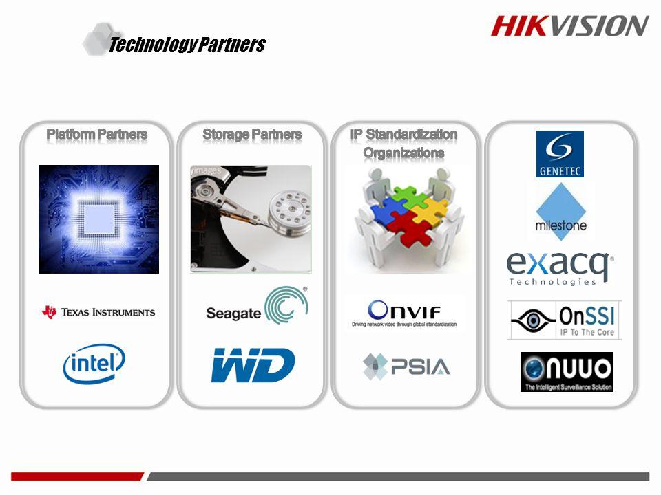 Technology Partners Platform Partners Storage Partners