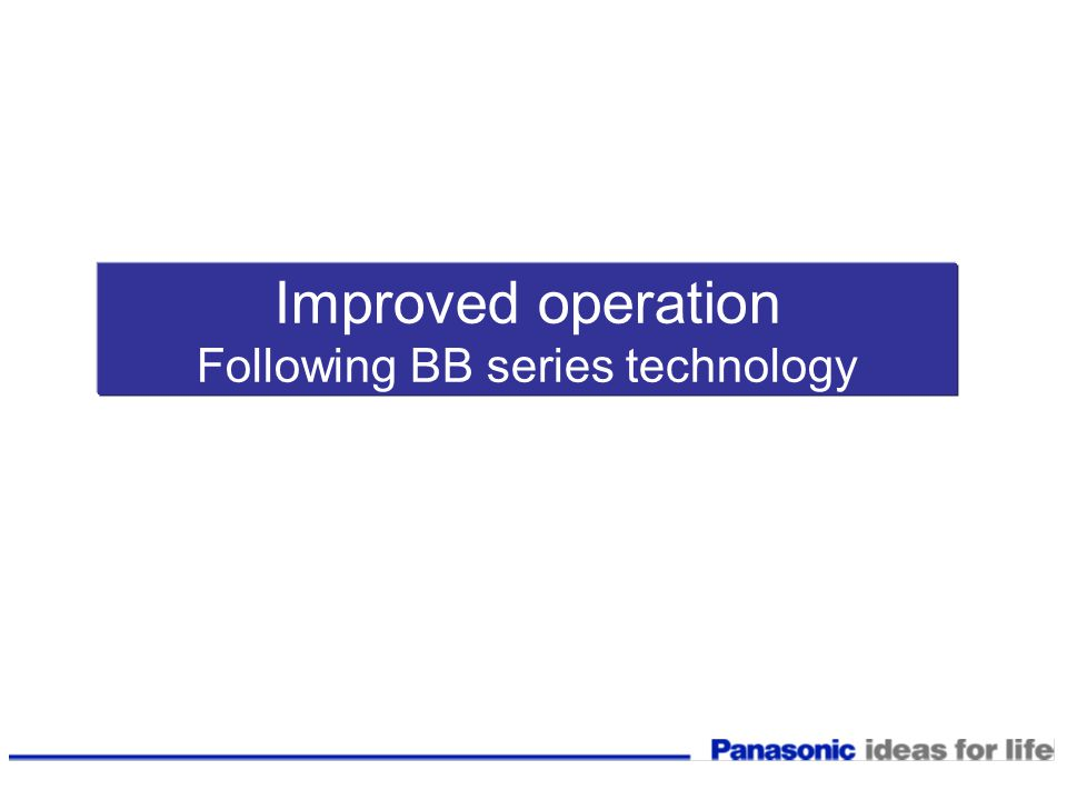 Following BB series technology