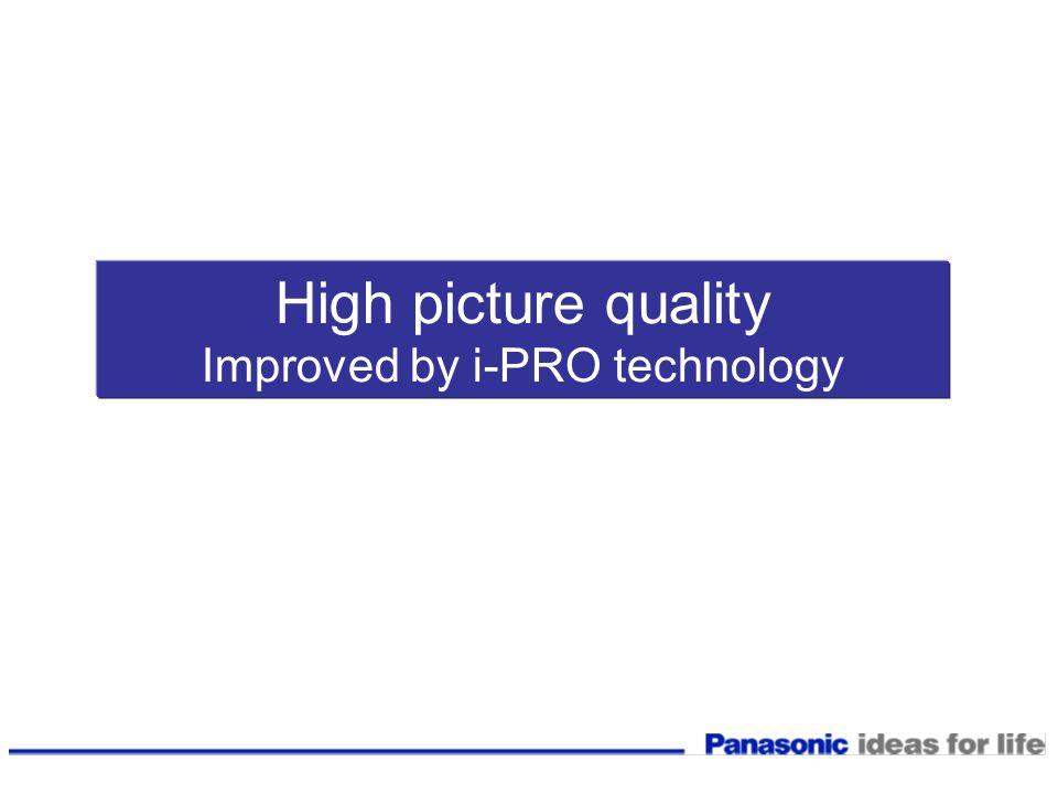 Improved by i-PRO technology