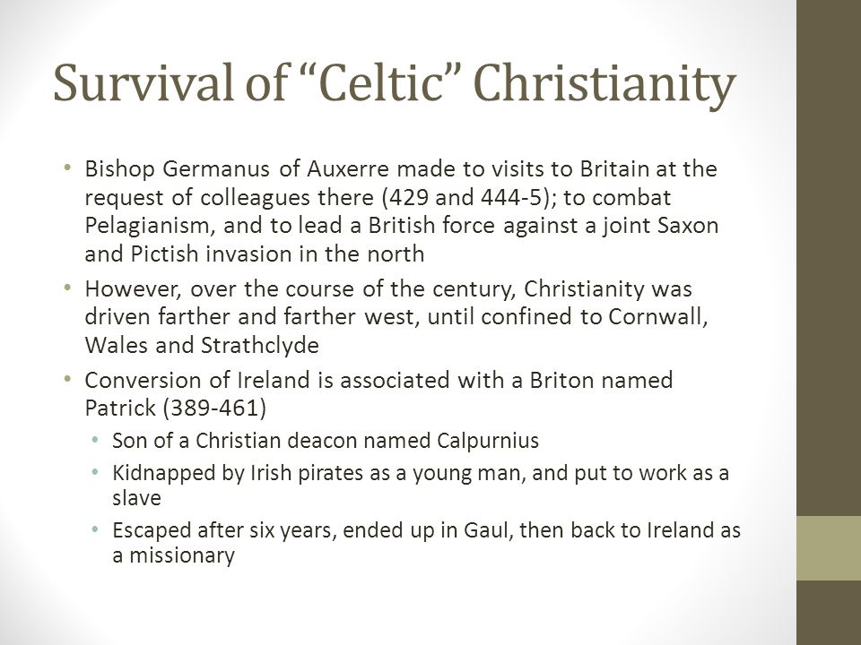 Survival of Celtic Christianity