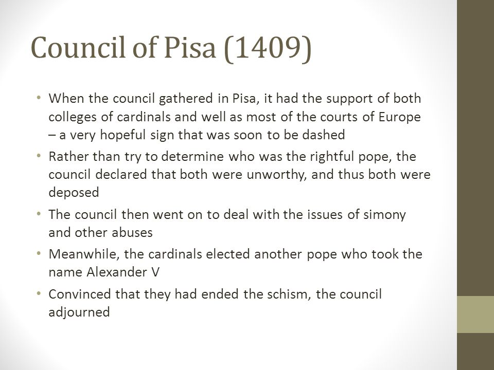 Council of Pisa (1409)