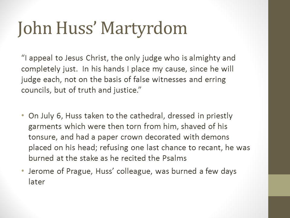 John Huss' Martyrdom