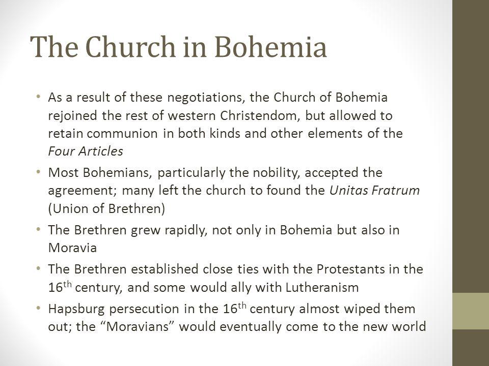 The Church in Bohemia