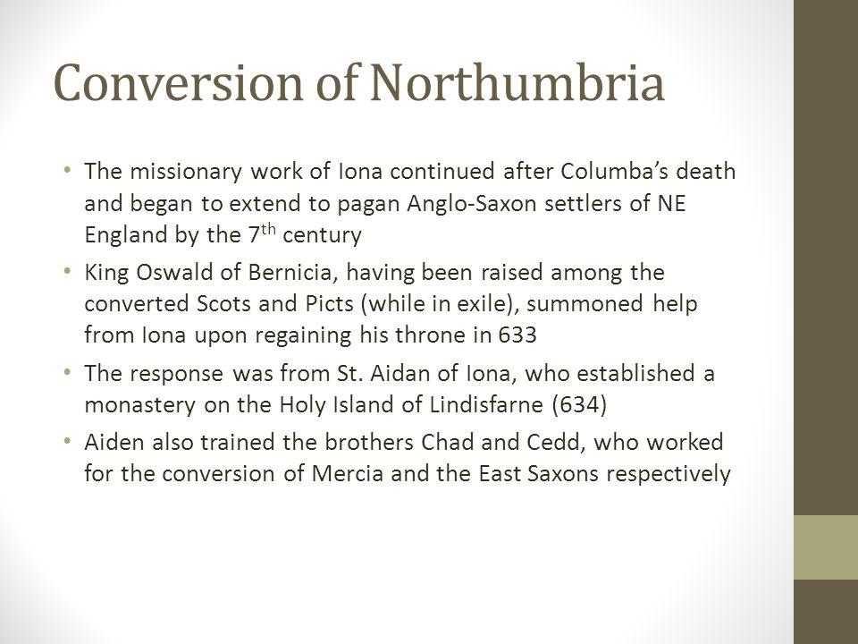 Conversion of Northumbria