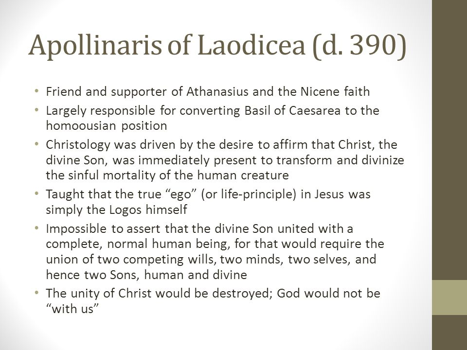 Apollinaris of Laodicea (d. 390)