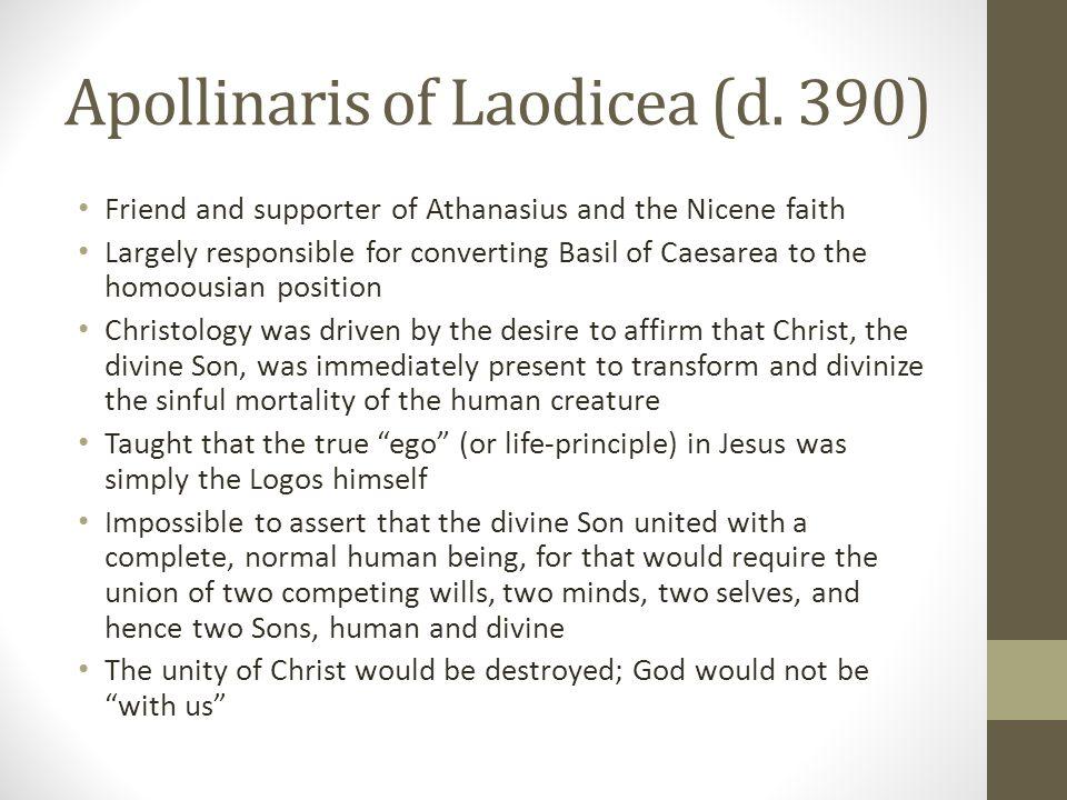 Apollinaris of Laodicea (d. 390)