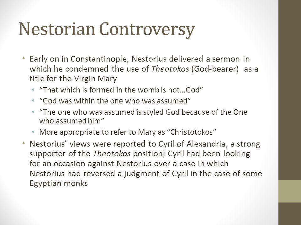 Nestorian Controversy