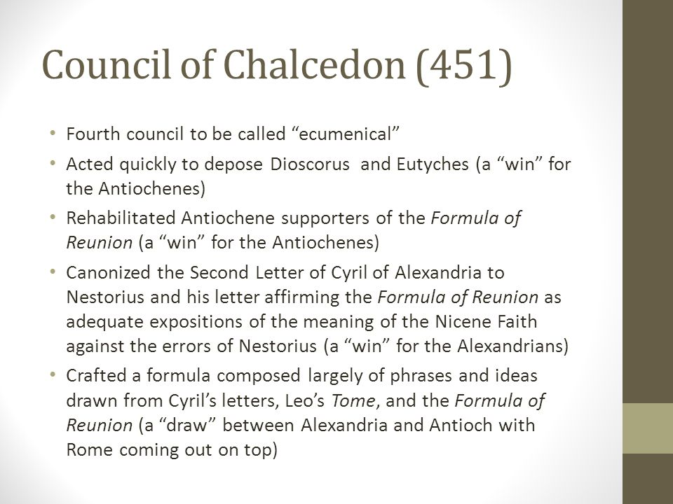 Council of Chalcedon (451)