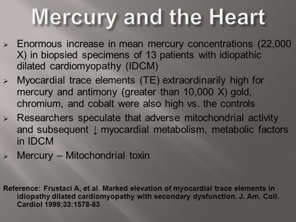 Mercury and the Heart