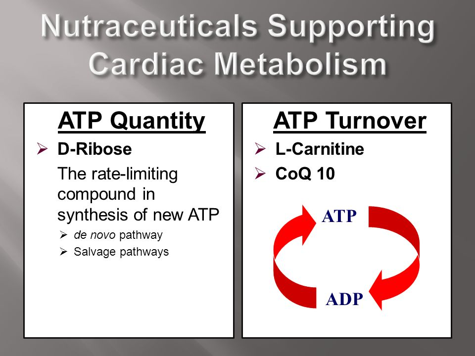Nutraceuticals Supporting Cardiac Metabolism