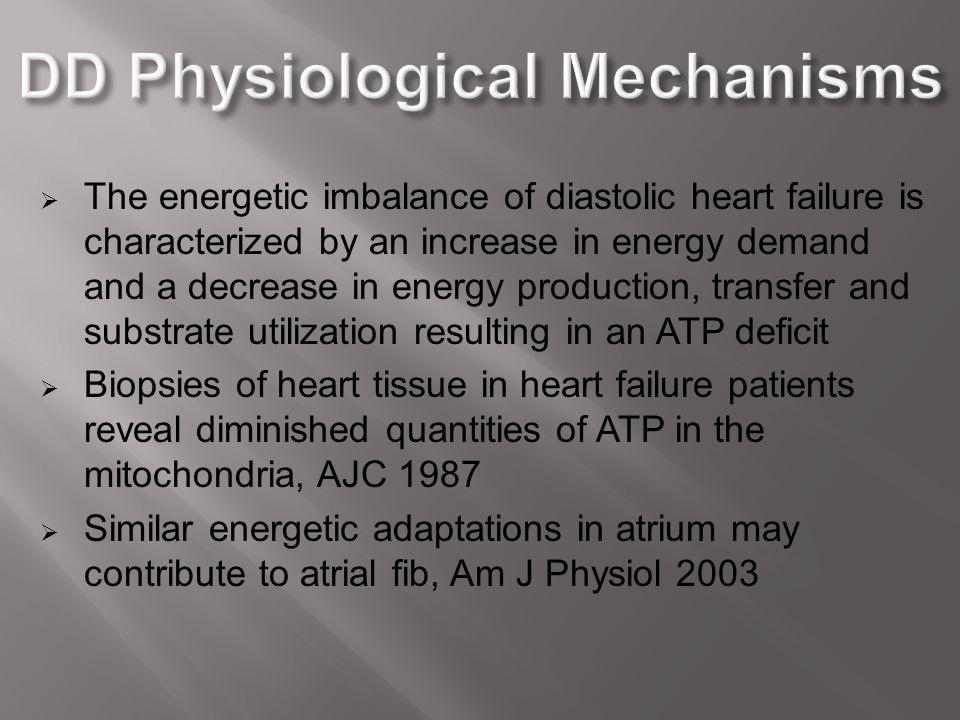 DD Physiological Mechanisms