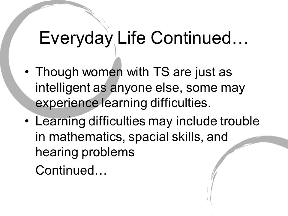 Everyday Life Continued…