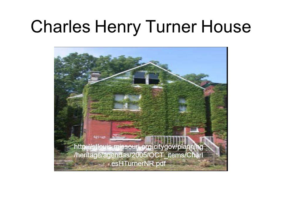 Charles Henry Turner House