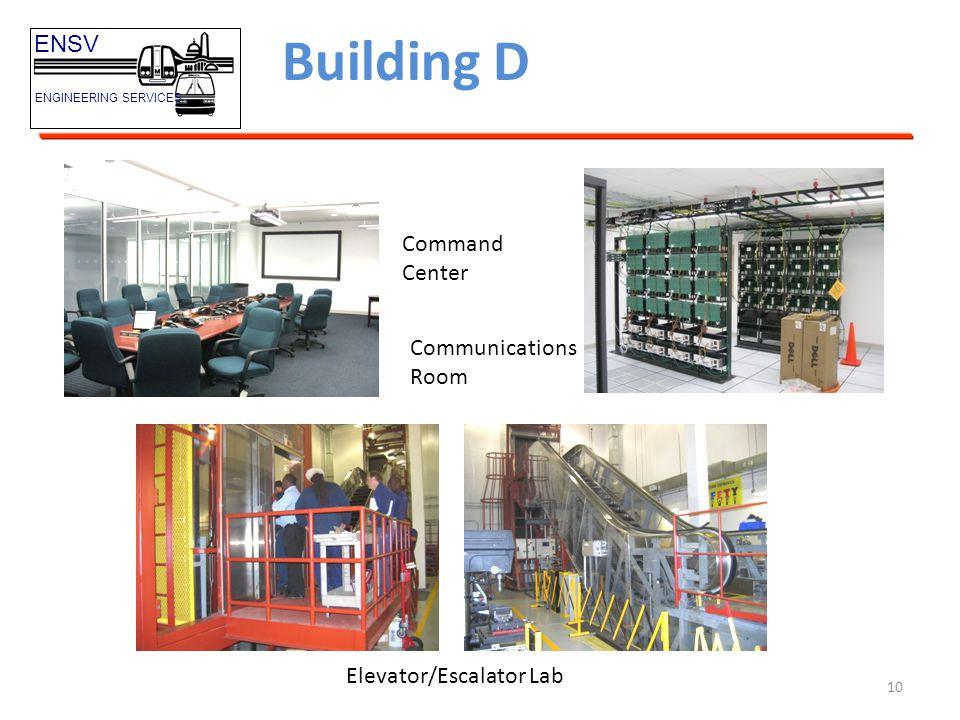 Building D ENSV Command Center Communications Room