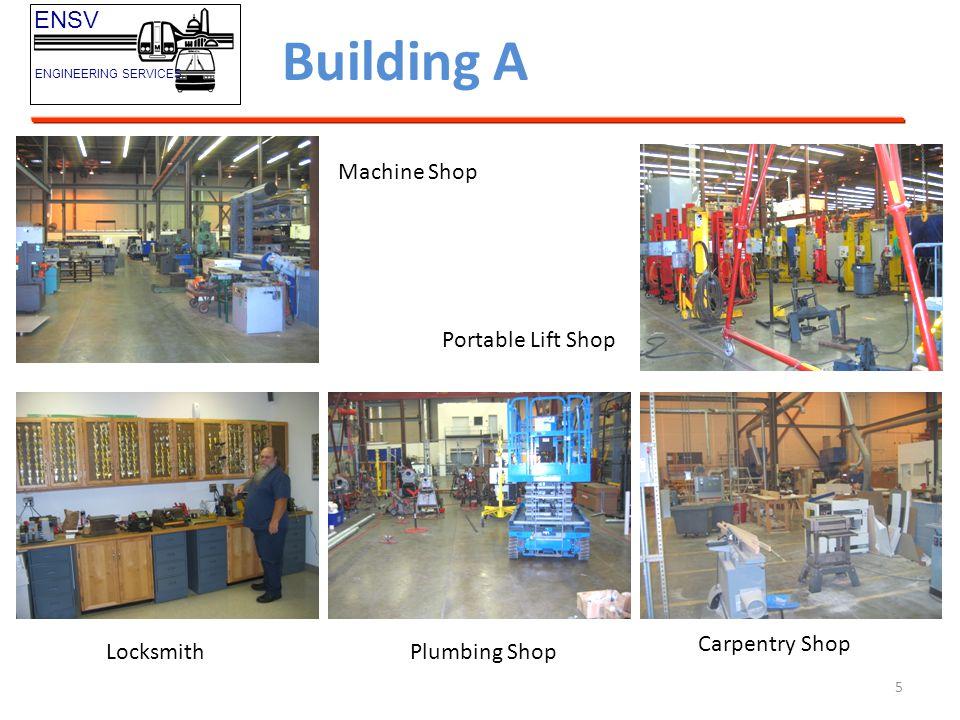 Building A ENSV Machine Shop Portable Lift Shop Carpentry Shop
