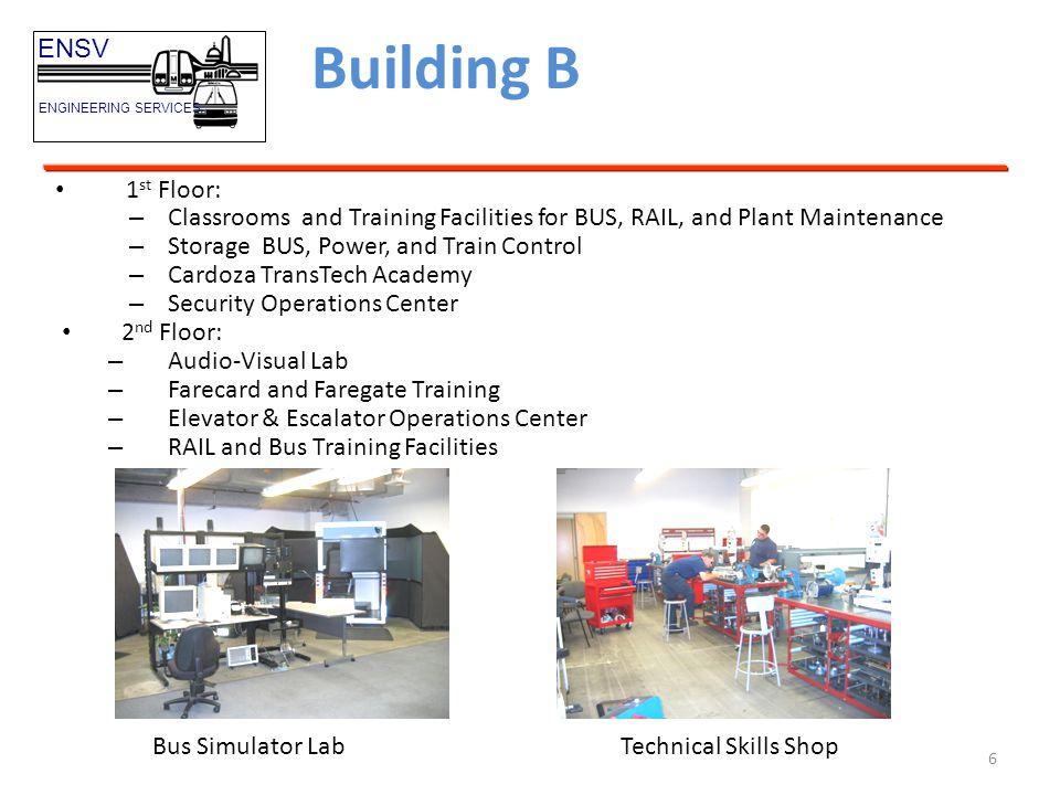 Building B ENSV 1st Floor: