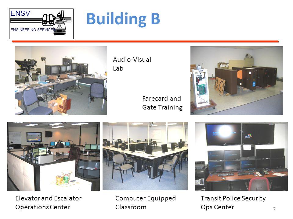 Building B ENSV Audio-Visual Lab Farecard and Gate Training
