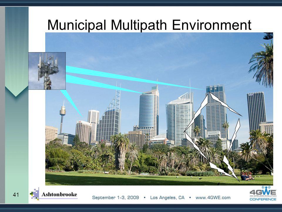 Municipal Multipath Environment