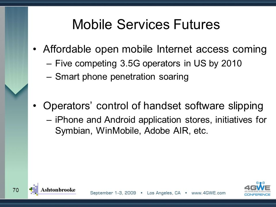 Mobile Services Futures
