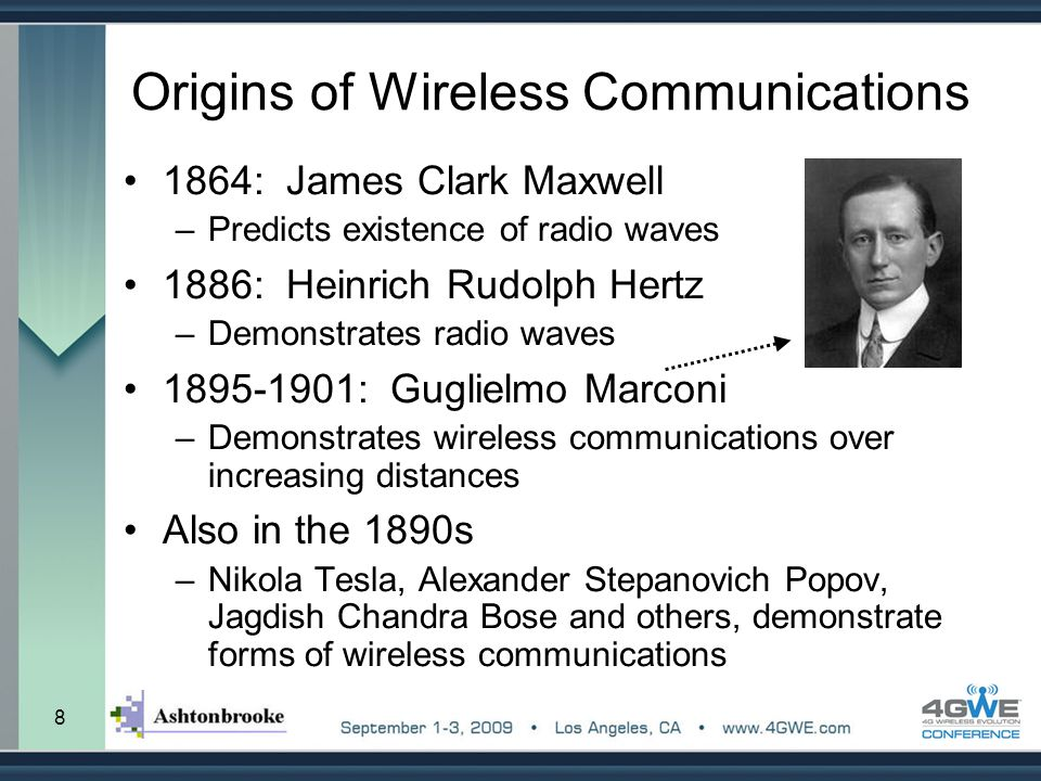 Origins of Wireless Communications