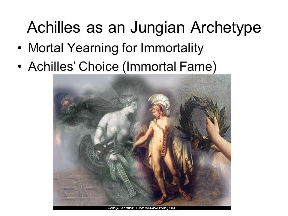Achilles as an Jungian Archetype
