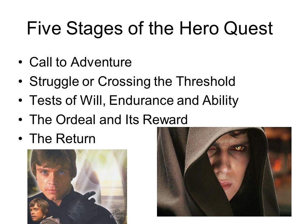 Five Stages of the Hero Quest