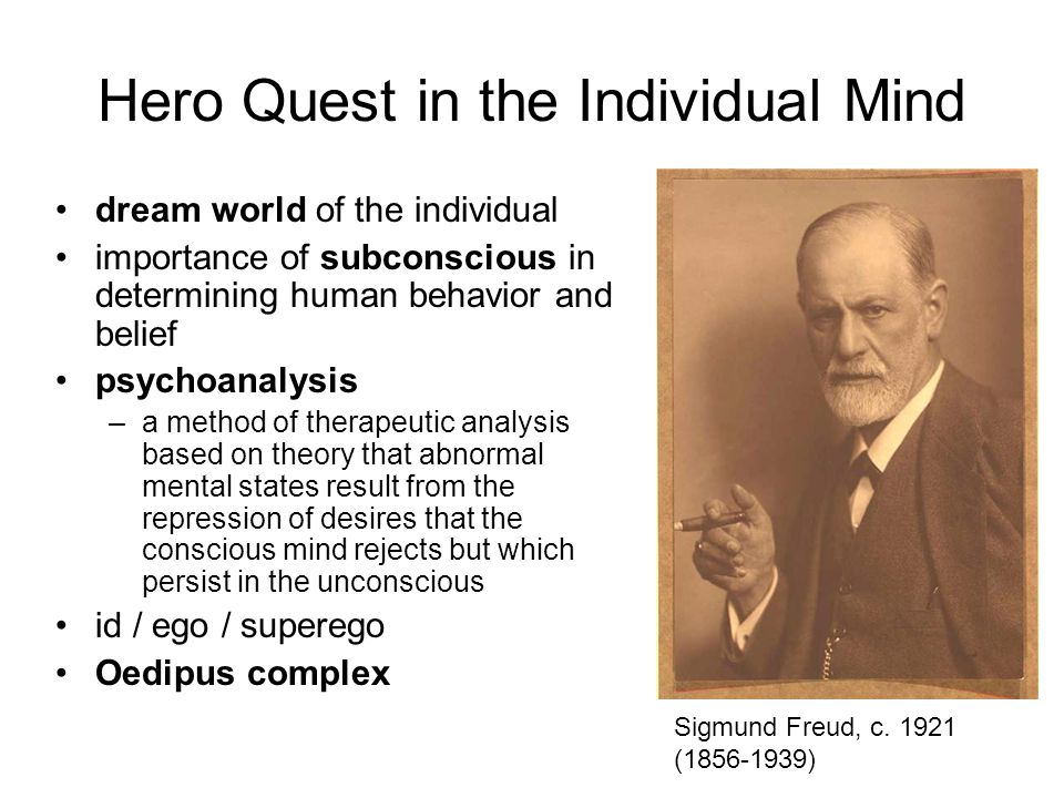 Hero Quest in the Individual Mind