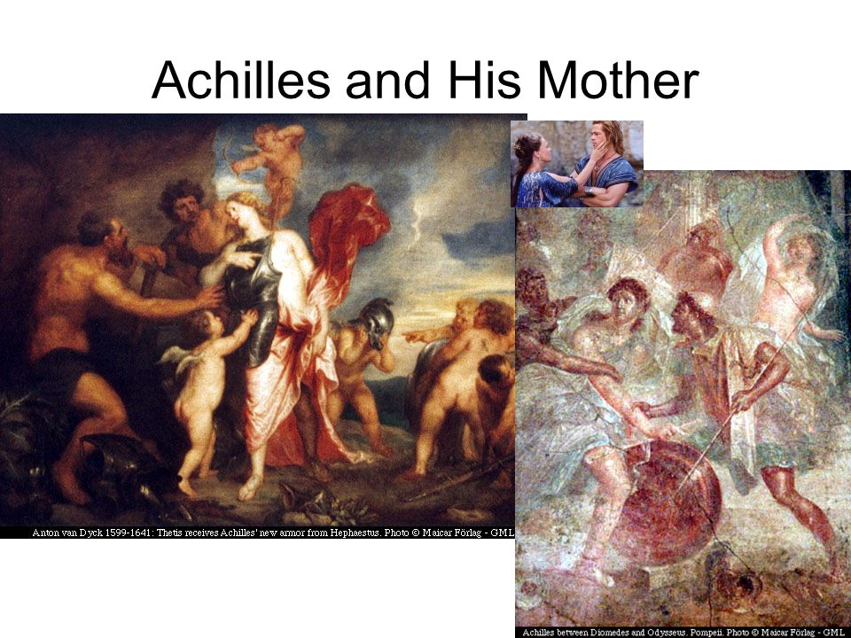 Achilles and His Mother