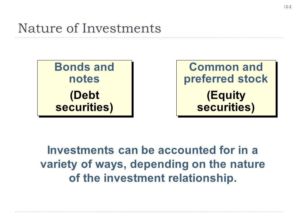 Common and preferred stock
