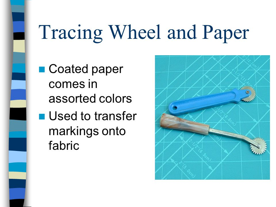 Tracing Wheel and Paper