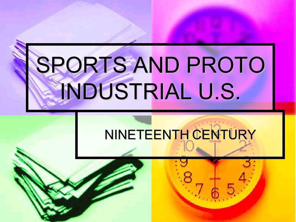 SPORTS AND PROTO INDUSTRIAL U.S.