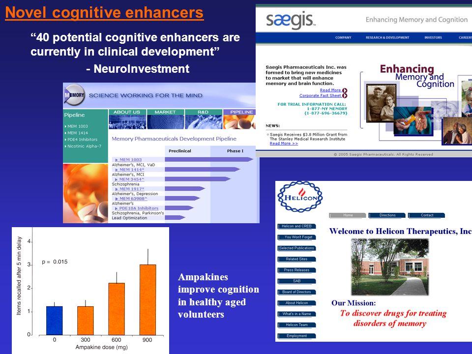 Novel cognitive enhancers
