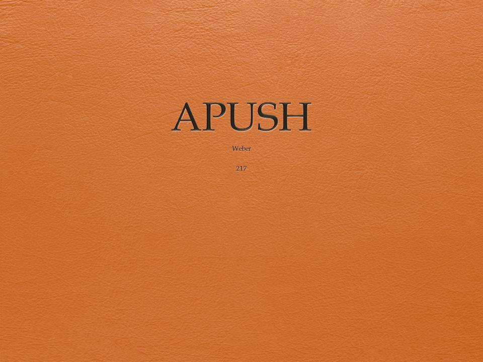 APUSH Weber 217
