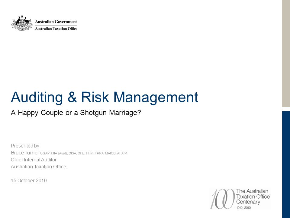 Auditing & Risk Management