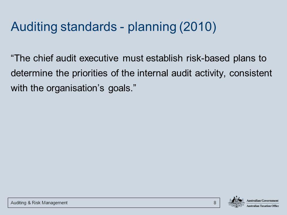 Auditing standards - planning (2010)