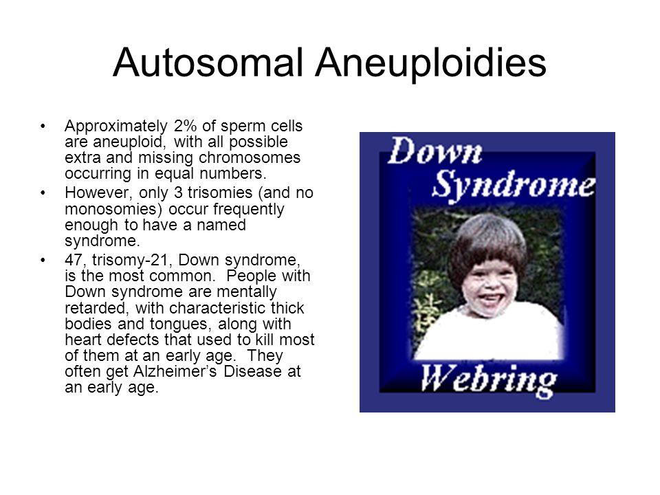 Autosomal Aneuploidies
