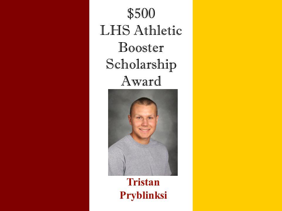Booster Scholarship Award