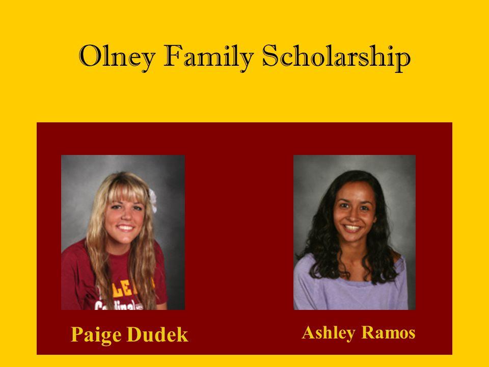 Olney Family Scholarship