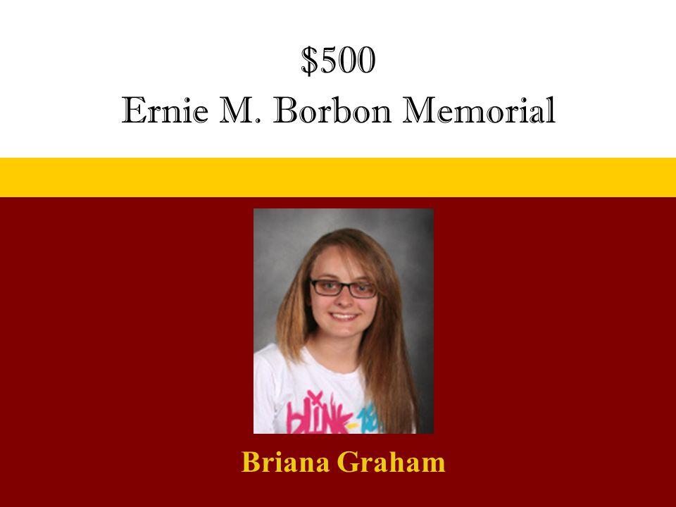 Ernie M. Borbon Memorial