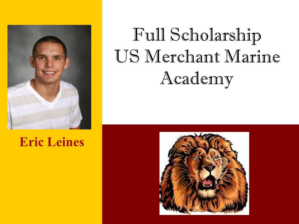 Full Scholarship US Merchant Marine Academy
