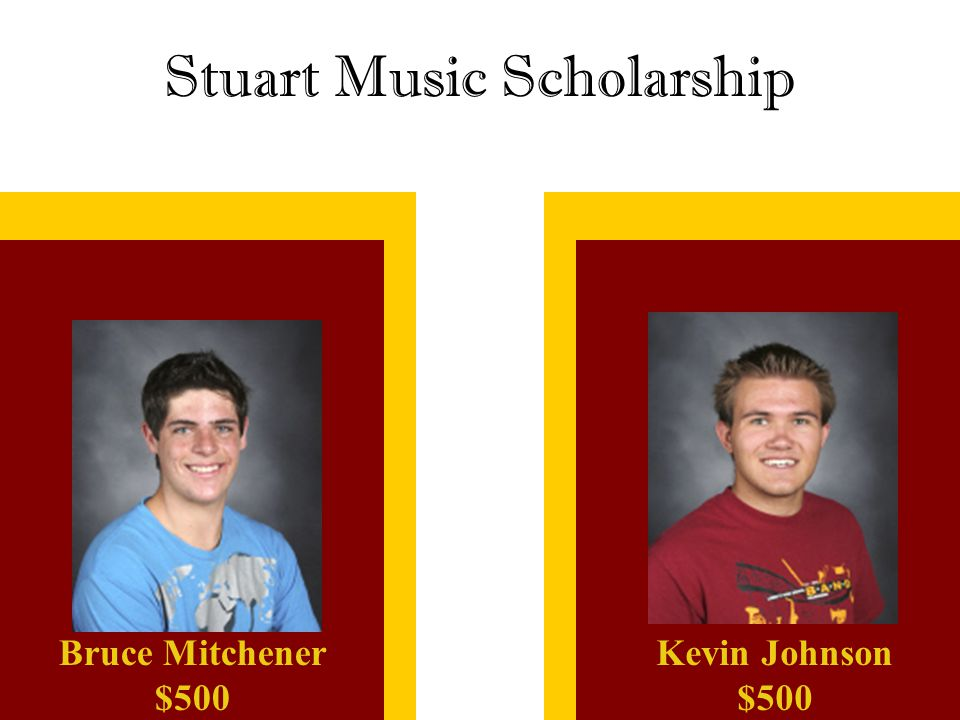 Stuart Music Scholarship