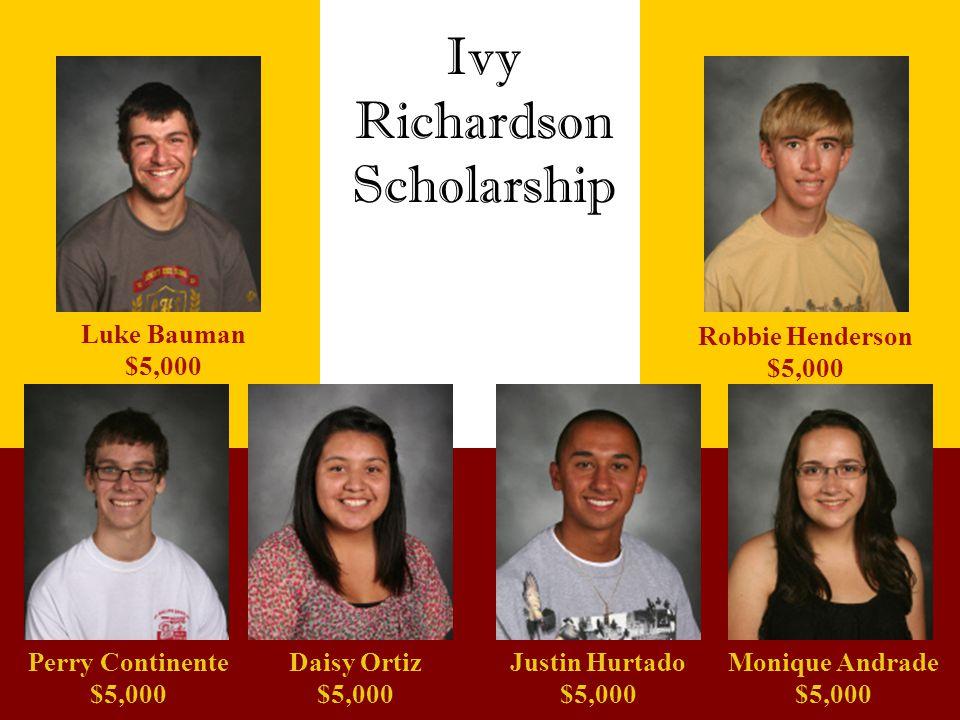 Richardson Scholarship