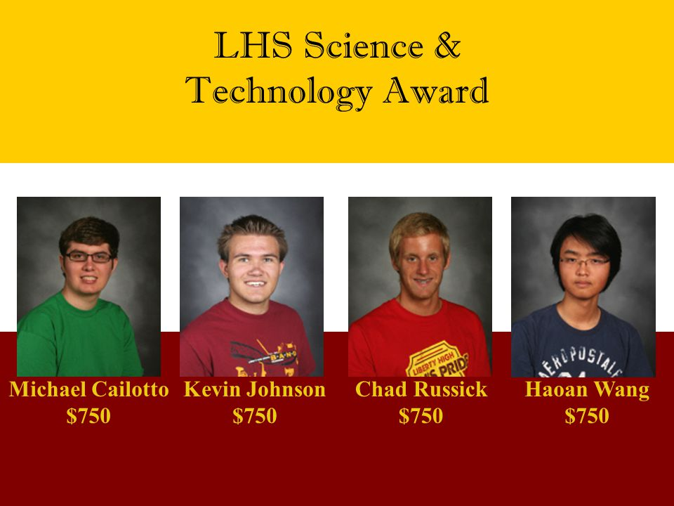 LHS Science & Technology Award