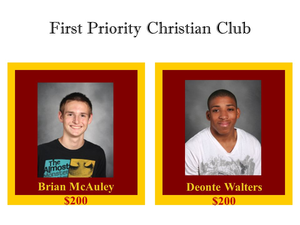 First Priority Christian Club