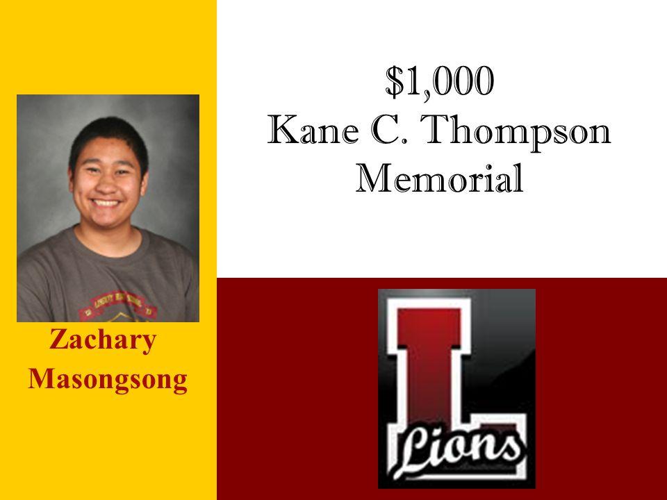 Kane C. Thompson Memorial