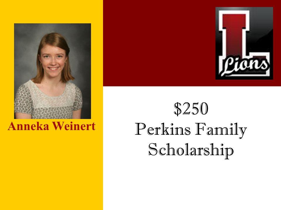 Perkins Family Scholarship