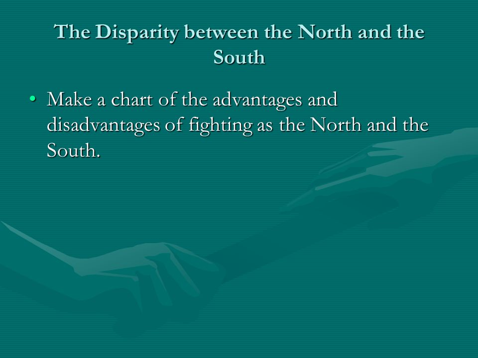The Disparity between the North and the South