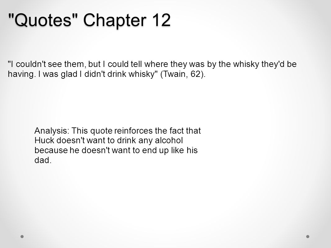 Quotes Chapter 12