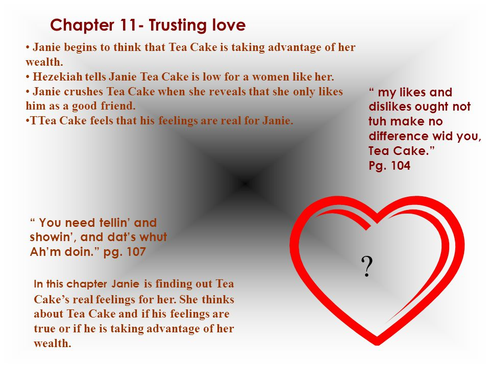 Chapter 11- Trusting love