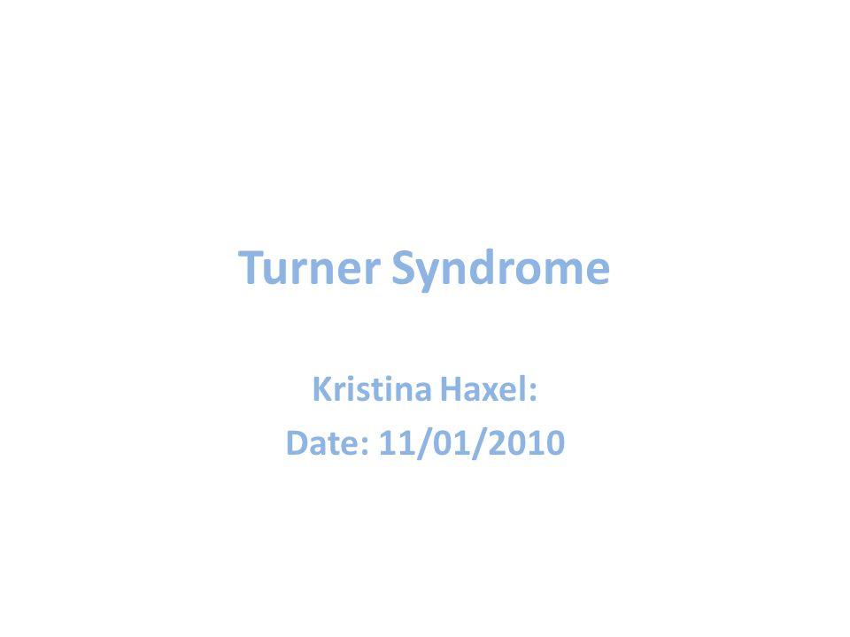 Kristina Haxel: Date: 11/01/2010